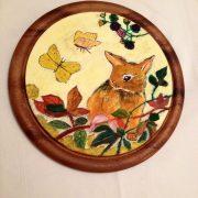 piatto-legno-con-coniglietto-dipinto